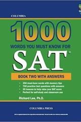 کتاب هزار واژه بسیار رایج آزمون SAT